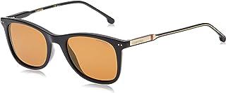 نظارة شمسية مستطيلة للجنسين من كاريرا، لون اسود، 197/S