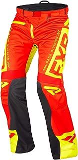 FXR Cold Cross RR Pant (Nuke Red/Hi Vis, Medium)