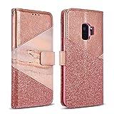 ZCDAYE Wallet Case for Samsung Galaxy S8 Plus,Premium Bling