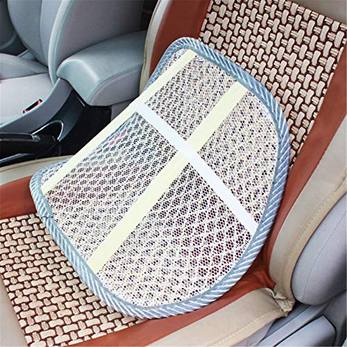 Car Seat Backrest, Ice Silk Lumbar Support, Mesh Backrest Support, Car Summer Breathable Cushion
