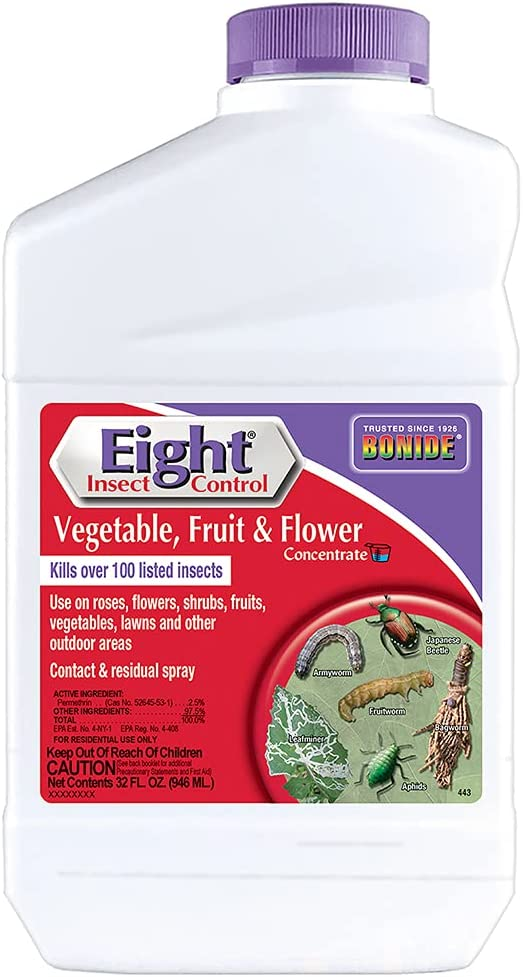 Bonide BND443 - Dedication Eight Insect Control Max 68% OFF Fruit Vegetable for and