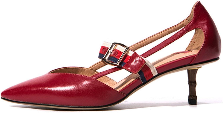 Nio Nio Nio Sju äkta läderspetsiga kvinnors spetsiga tå Stiletto handgjorda kvinnor Sexiga pumpaskor  stödja grossistförsäljning