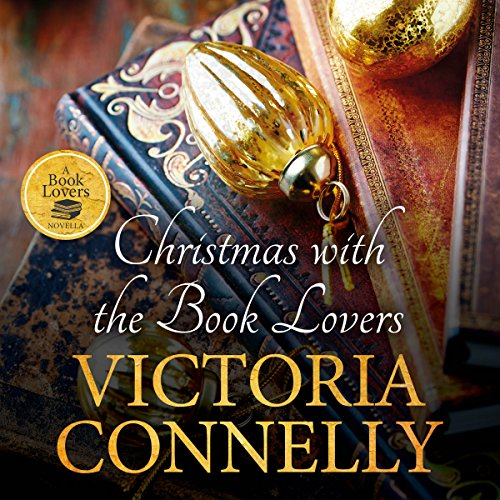Christmas with the Book Lovers audiobook cover art