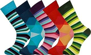 cotone pettinato taglia 40-45 MySocks 5 paia calzini da uomo