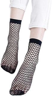 Calcetines De Las Corto Señoras Mallas Verano Fino Calcetines Cortos Estilo Simple De Moda Calcetines De Ocio Cómoda Moda Cómoda Negro Suave
