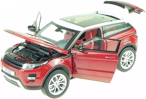 Range Rover Evoque rot Modellauto 11003mbr Welly GTA 1 18