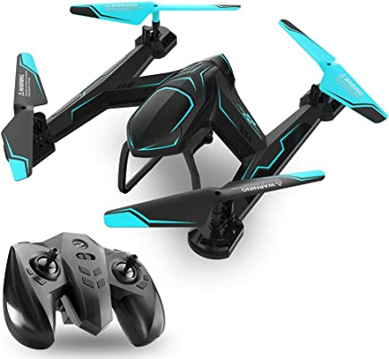 $39 Get TEMI AG-01 RC Drone Quadcopter 2.4Ghz 6 Axis Gyro 4 Channel Remote Control Helicopter Kits Easy to Fly for Beginners Kids Adults, Without FPV WiFi HD Camera, Good Choice for Drone Training