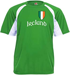 Custom Ireland Soccer Jersey Personalized with Your Names and Numbers
