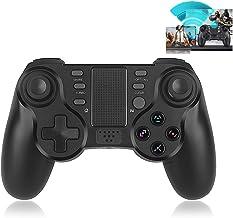 Elyco Mando para PS4, Wireless Bluetooth dualshock Inalámbrico Gamepad Controlador Controller Joystick Joypad Vibración Doble Remoto Compatible con Playstation 4/PS4 Slim/PS4 Pro/PS3