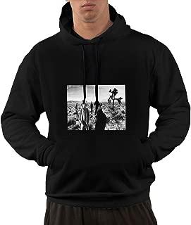 NA Men U2 - Joshua Tree Classic Black Hooded Sweatshirt