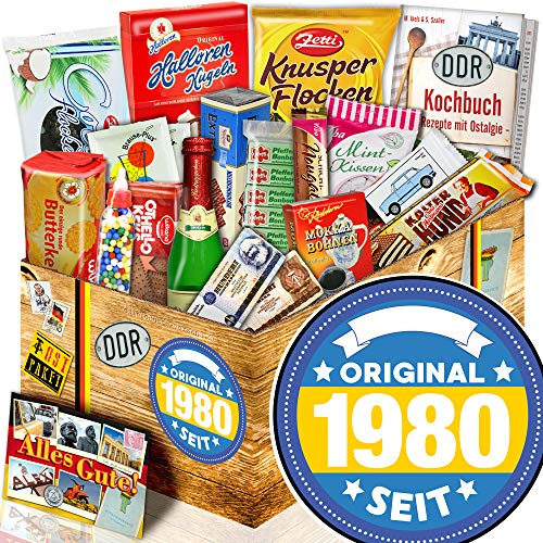 Original seit 1980 - Süße Ostbox - 1980 Geschenk Mann