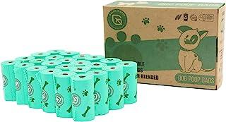 comprar comparacion Green Maker Biodegradables Caca Perro Bolsas 360 Excrementos Perros Bolsas 30% más Grueso Que Otros Hecho de Almidón de Ma...