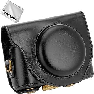PU Pelle Custodia Borsa per fotocamera per Sony DSC HX90V HX90 HX80 HX99 HX95 HX60V HX50