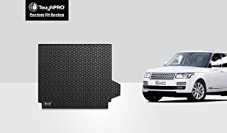 ToughPRO Cargo/Trunk Mat Compatible with Land Rover Range Rover Sport - All Weather - Heavy Duty - (Made in USA) - Black Rubber - 2014,2015,2016,2017,2018,2019, 2020