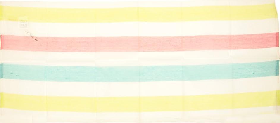 遮る恨み横向きフレンズヒル グリーン 110×45cm パラソル カフェカーテン ES-570-08