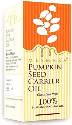 Mesmara Cold Pressed Pumpkin Seed Carrier Oil Pure, Natural and Undiluted - 30 ML