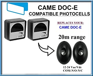 Came DOC-E compatible universal infrared photocells / safety beam 12-24V, N.O-COM-N.C with 20m range!!!