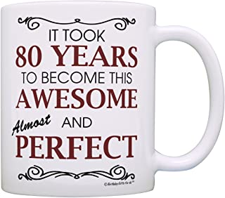 80th Birthday Gifts For All Took 80 Years Awesome Funny Party Gift Coffee Mug Tea Cup White