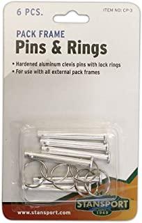 Stansport Pack Frame Pins and Rings
