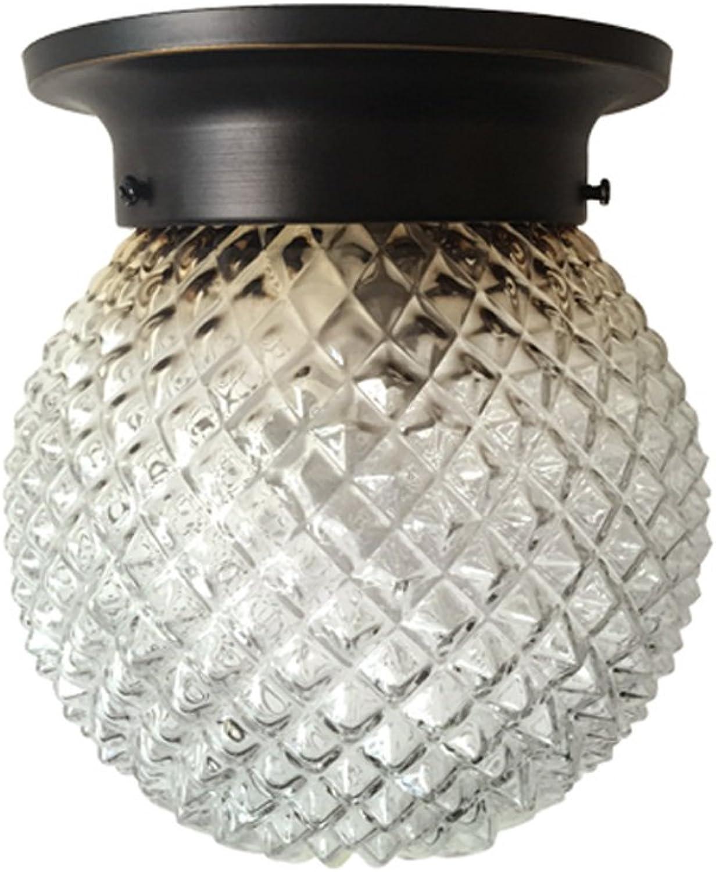 WANGXIAOLIN Deckenleuchte Eisen Lampe Für Wohnzimmer Schlafzimmer Bedside Küche Arbeitszimmer Restaurant Badezimmer Hotel Meeting Room (Farbe   Without Bulb)