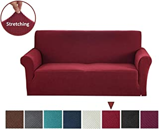 Amazon.com: Red - Sofa Slipcovers / Slipcovers: Home & Kitchen