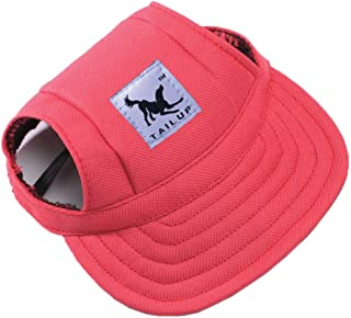 pan hui Funny Cool Pet Doggie Cap Hat for Sun Rain Protection,Great Birthday for Small Medium Cats Dogs