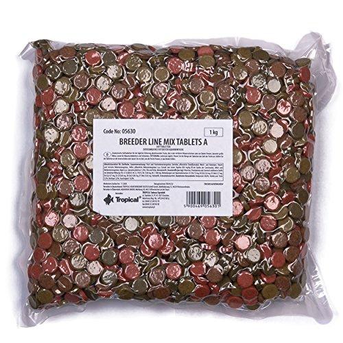 Tropical Futtertabletten Mix Tablet A 1kg Hafttabletten