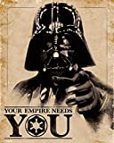 Star Wars Poster Darth Vader Your Empire Needs You (40cm x