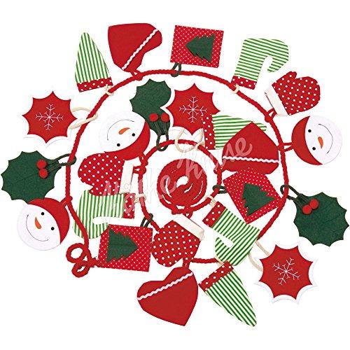 Käthe Kruse 73452 Adventskalender grün/rot