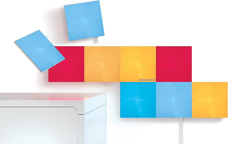 Nanoleaf Canvas Smarter Kit, Kunststoff, 9 W, Wei