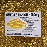 "The Vitamin Omega-3 Fish Oil 1000mg 365 Capsules - 1 per Day""Free Postage"""