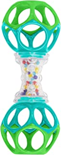 Bright Starts Oball Shaker Rattle Toy, Ages Newborn +