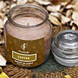 Best Scented Candles - Maxime Candles Coffee Scented Glass Jar Candle Review