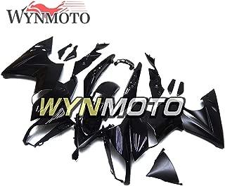 painting motorcycle fairings matte black