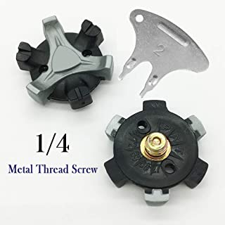 Best screw in golf cleats Reviews