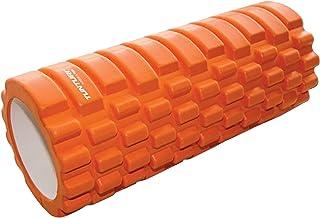 Tunturi Yoga Foam Grid Roller, Orange - 33 cm