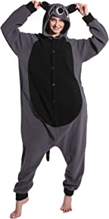Unisex Adulto Animal Pijamas Mapache Cosplay Disfraz Animal Disfraz Niño