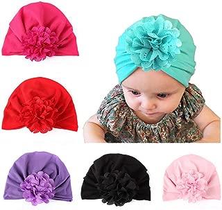 Baby Girl Hat Newborn Hospital Hat Infant Turban Nursery Beanie Headwrap