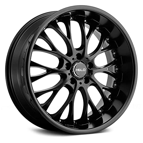 20 inch rims 8 5 5x120 amazon Custon Ford Falcons Cars helo he890 satin black wheel with painted finish 20 x 8 5 inches 5 x