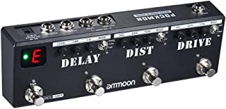 ammoon Guitar Effect Pedal POCKMON Multi-Effects Pedal...
