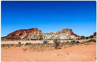 Tree26 Indoor Floor Rug/Mat (23.6 x 15.7 Inch) - Rainbow Valley Nt Outback Australia Nt Landscape