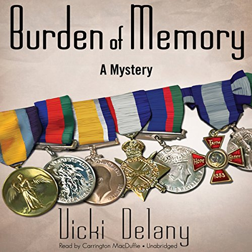 Burden of Memory audiobook cover art