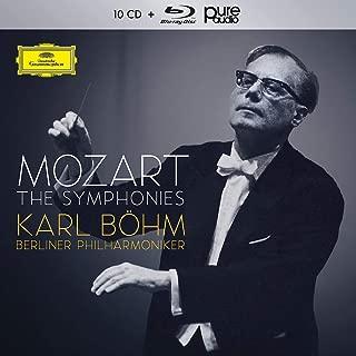 Mozart: The Complete Symphonies - Karl Böhm [CD + Blu-ray]