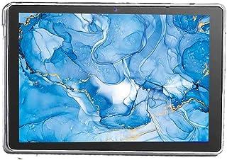 Dragon Touch タブレット 10.1インチ NotePad 102 ケース - TPUシリコン【HVUYAL】 カバー 耐衝撃 半クリア全面保護 スリムフィット Dragon Touch NotePad 102 専用 スマートカバー...