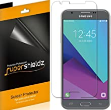 (6 Pack) Supershieldz for Samsung (Galaxy J3 Emerge) and (Galaxy J3 Prime) Screen Protector, High Definition Clear Shield (PET)