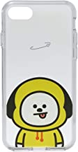 BT21 Official Merchandise by Line Friends - CHIMMY Character Clear Case for iPhone 8 Plus/iPhone 7+, Yellow