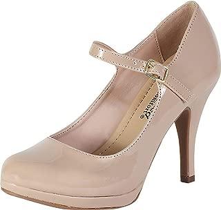 Women's Comfort Dennis Mary Jane High Heel