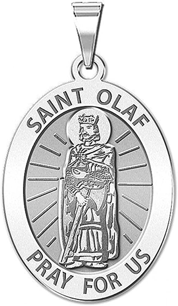 PicturesOnGold.com Award-winning store Saint Olaf of gift Norway Religious 3 4 Medal -