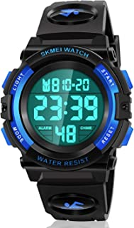 ATIMO LED 50M Waterproof Sports Digital Watch for Kids - Kids Gifts