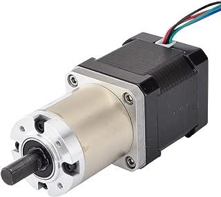 STEPPERONLINE 51:1 Planetary Gearbox High Torque Nema 17 Stepper Motor Precision Camera DIY